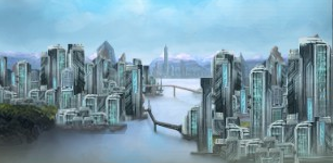Stellaris Corporatocratic City