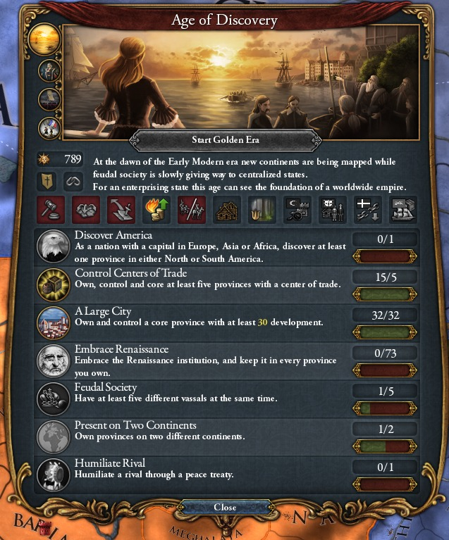 EUIV - Legacy of Bharat - Part 3: Trade Steering - Ages, Objects, Abilities, and Splendor