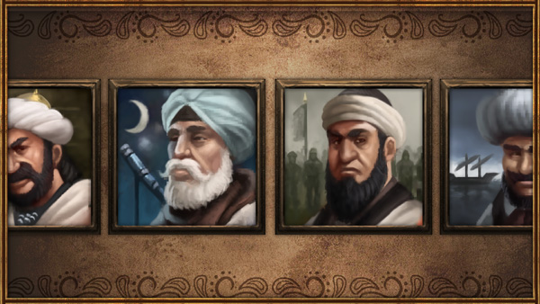 EU4 Rivals and Enemies - Advisor portraits