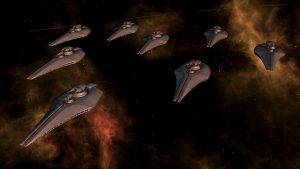 Stellaris Humanoids Species Pack - Dev Diary 95 - Humanoids Ship Set