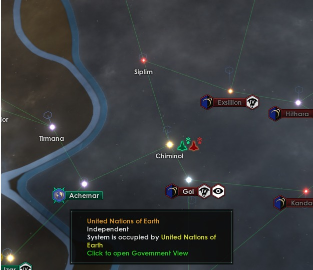 System occupation in the Stellaris wargoals overhaul