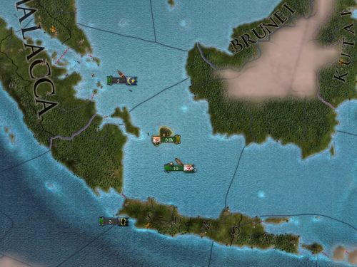 EUIV - Legacy of Bharat - Part 4: Colonization - First colony at Belitung in Malacca