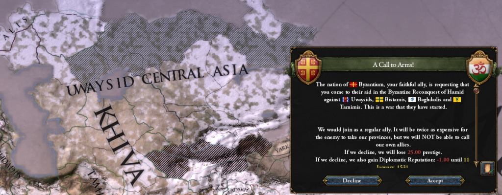 EUIV - Legacy of Bharat - Part 4: Colonization - Call to arms from Byzantium