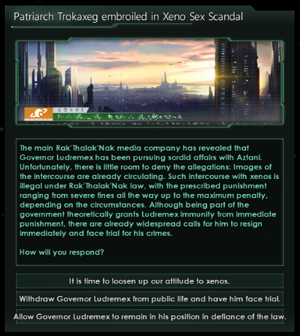 Stellaris Mod Roundup - December '17 - Dynamic Political Events