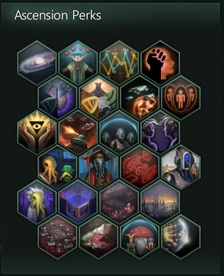 Expanded Stellaris Ascension Perks