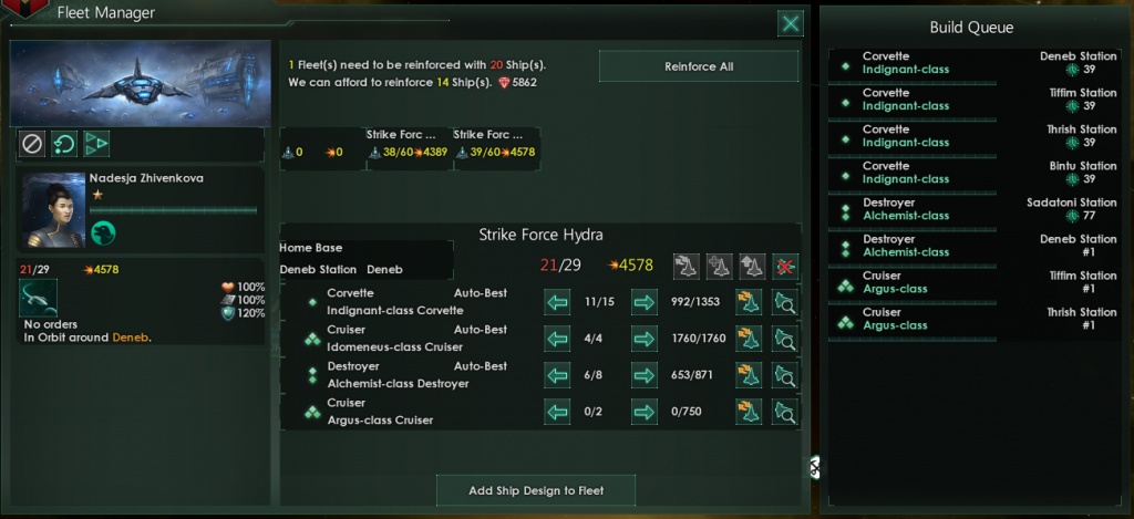 Stellaris Fleet Manager - Dev Diary #98