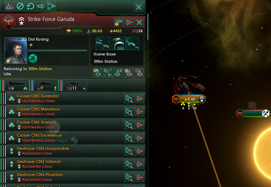 Stellaris Fleet Manager - Dev Diary #98 - Return to Home Base