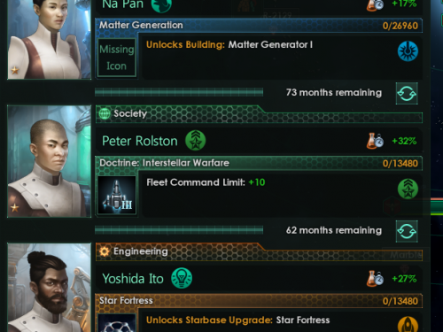 Stellaris Tech Progression - Dev Diary #97 - New technologies