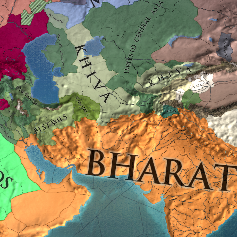 EUIV - Legacy of Bharat - Part 5: Pacific Dreams - Khiva