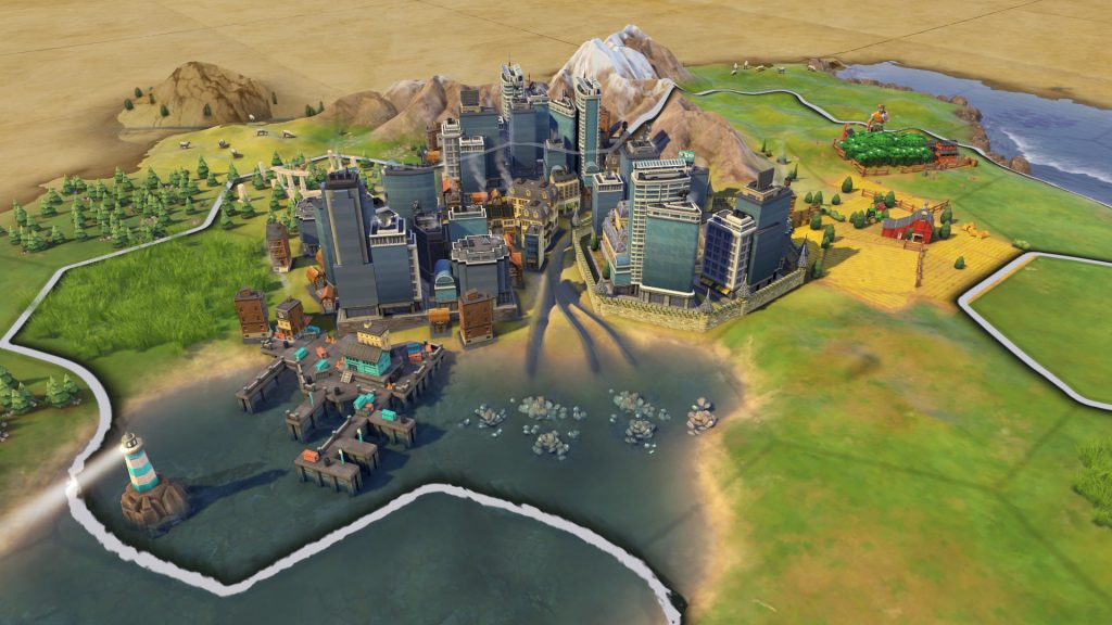 civ 6 placing city on bonus res