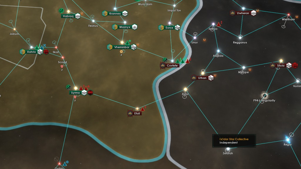 Stellaris Cherryh Review - Small fleets