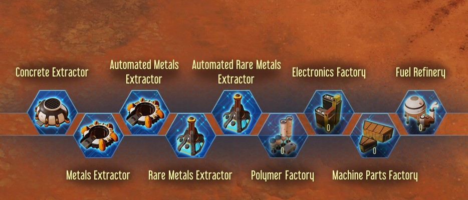 Surviving Mars Mods - Automated Mines and Factories