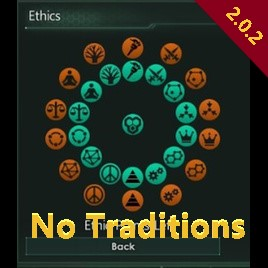 Stellaris Mod Roundup - March '18 - Cultural Overhaul: No Traditions